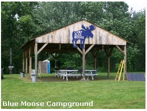 Camp Blue Moose Gay Campground Maine