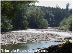 Triangle Recreation Camp Gay Campground in Washington